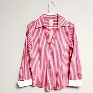 Brooks Brothers Pink Striped Oxford Shirt
